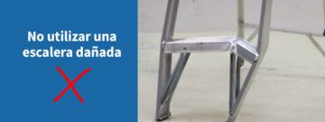 Técnicas correctas para inspeccionar una escalera de tijera según el American Ladder Institute´s